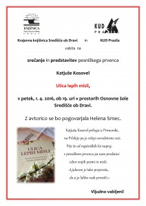 Katjusa Kosovel, KUD Prasila, Helena Srnec
